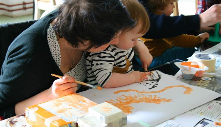 Baby Art Hour Christmas Edition at Spike Island