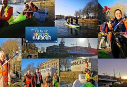 Clean Up Bristol Harbour