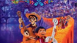 Coco screening at Arnos Vale Cemetery