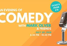 An Evening of Comedy with Mark Olver and Friends at Bristol Zoo Gardens