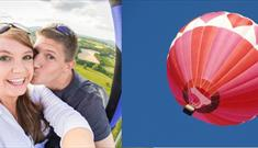 Valentines Hot Air Balloon Flight from Ashton Court Estate