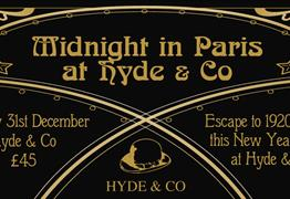 Midnight in Paris at Hyde & Co