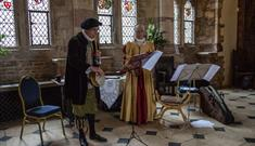 Live Music in the Great Hall at Berkeley Castle