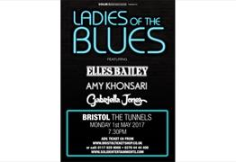 Ladies Of The Blues perform at The Tunnels