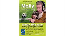 Rotary Sporting Dinner 2017: An Evening With Motty at Ashton Gate Stadium