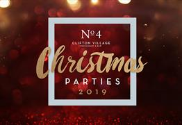 No.4 Clifton Village Christmas Parties