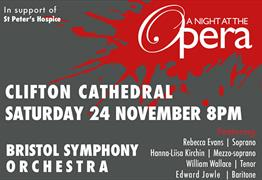 A Night at the Opera at Clifton Cathedral