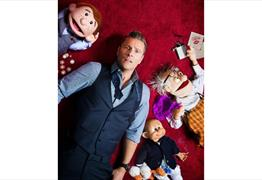 Paul Zerdin: All Mouth at Redgrave Theatre