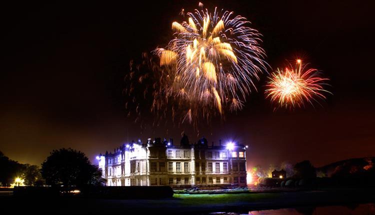 Fantastic Fireworks at Longleat