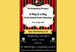 Pirate Themed Drama Workshop for 6-10 Year Old's Arghhhhh! at St Werburgh's Community Centre