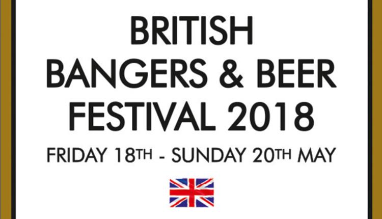 British Bangers & Beer Festival at The Temple Inn