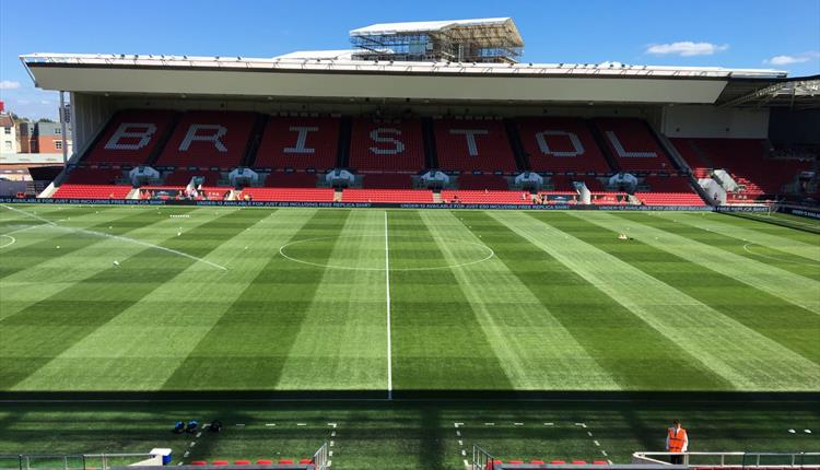 Be a mascot for Bristol City FC