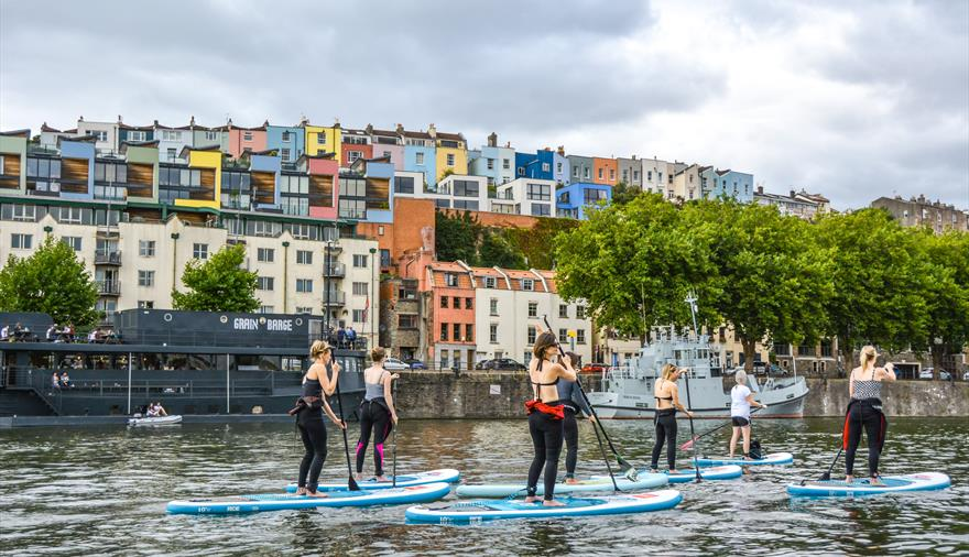 SUP Bristol Stand Up Paddleboarding in groups