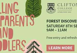 Forest Discovery Day at Clifton College Watson's Field