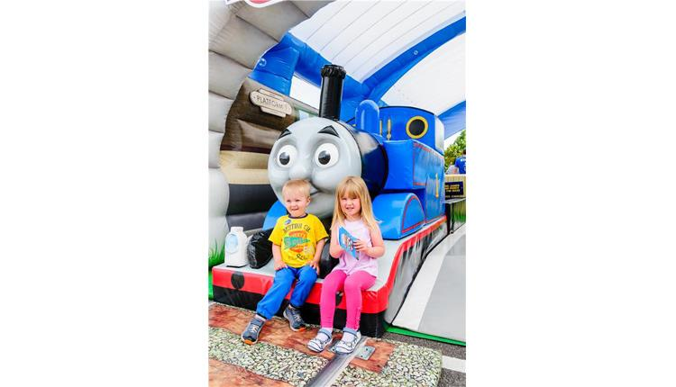 Thomas & Friends™ Inflatable Play Station experience