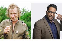 Tony Law & Eshaan Akbar at the Wardrobe Theatre