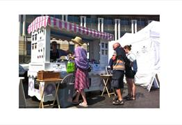 VegfestUK at the Amphitheatre and Waterfront Square, Harbourside