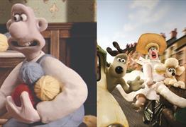 Wallace & Gromit - Free outdoor screenings at We the Curious Big Screen