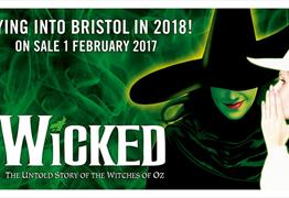 Wicked at Bristol Hippodrome