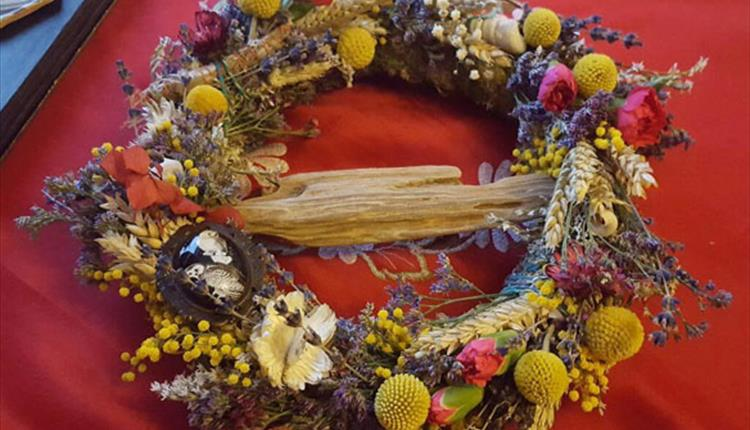 Winter Wreath Making Workshop with Floriography at Arnos Vale Cemetery