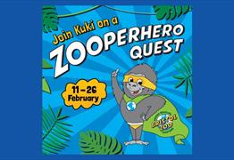 Zooperhero Quest at Bristol Zoo Gardens